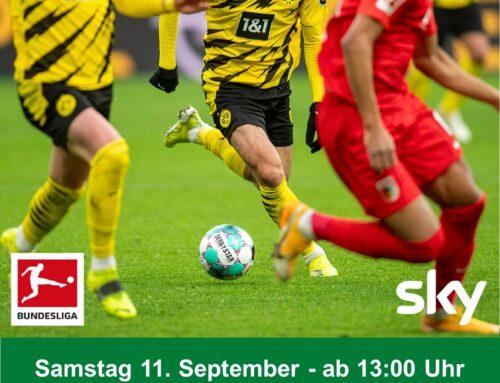 Live-Fußball ab Samstag, 11. September im neu renovierten Vereinsheim des SC Unterschneidheim
