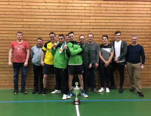 Tischtennis Vereinsmeisterschaften 2019